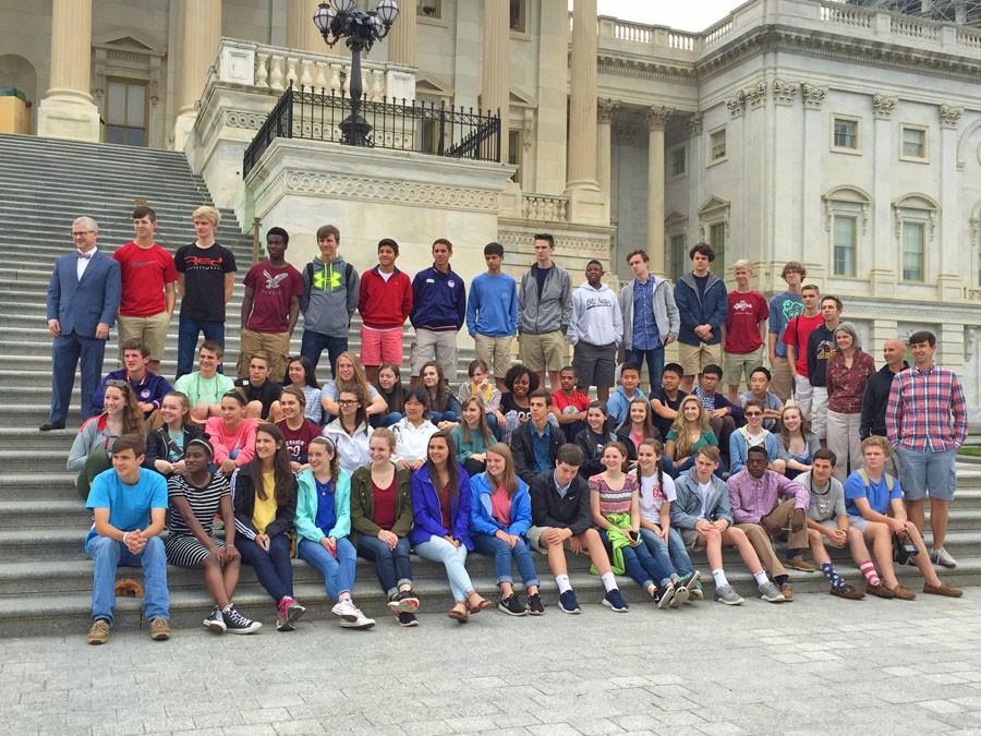 Gaston Christian students travel to Washington, DC