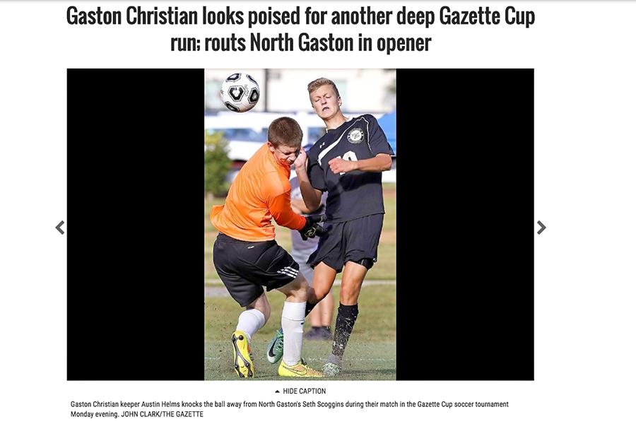 Gazette Cup feature