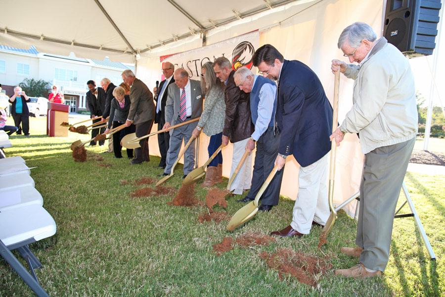 Fine Arts Center Ground Breaking ceremony