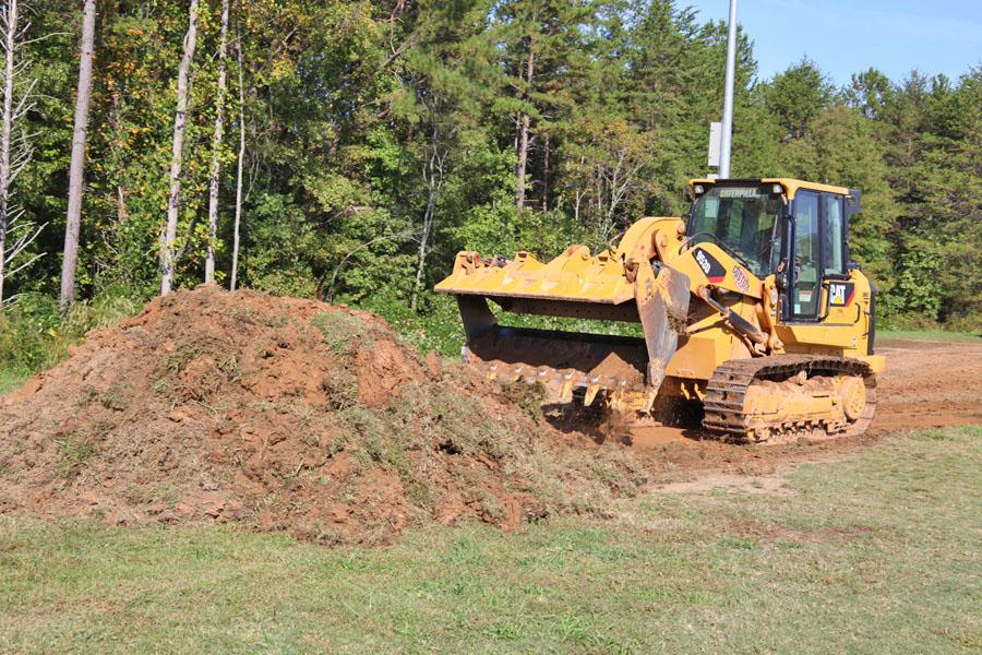 Track construction STARTS