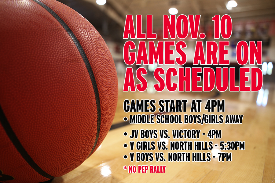 Nov. 10 Basketball Games