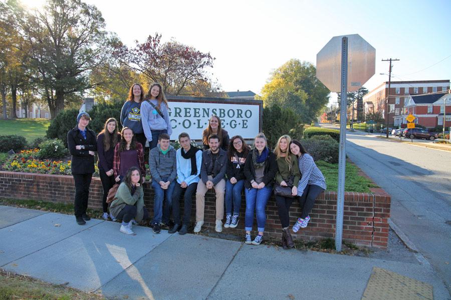 Drama Students at NCTC