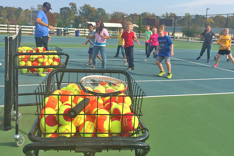 GCS Tennis Clinics for Middle and High School