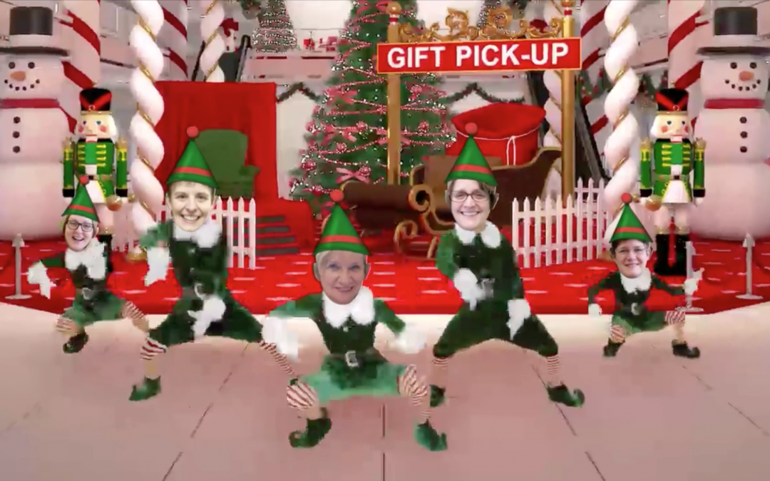 "Dancing with the Stars ""Elf style"""