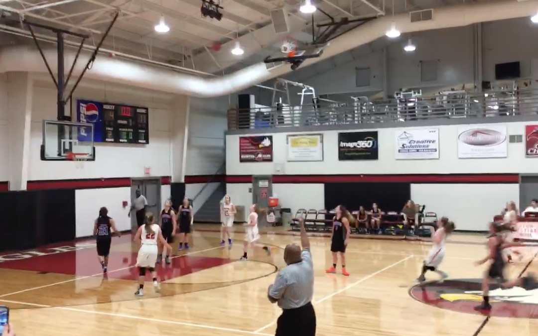 Hannah Bonisa's 3-pointer at buzzer
