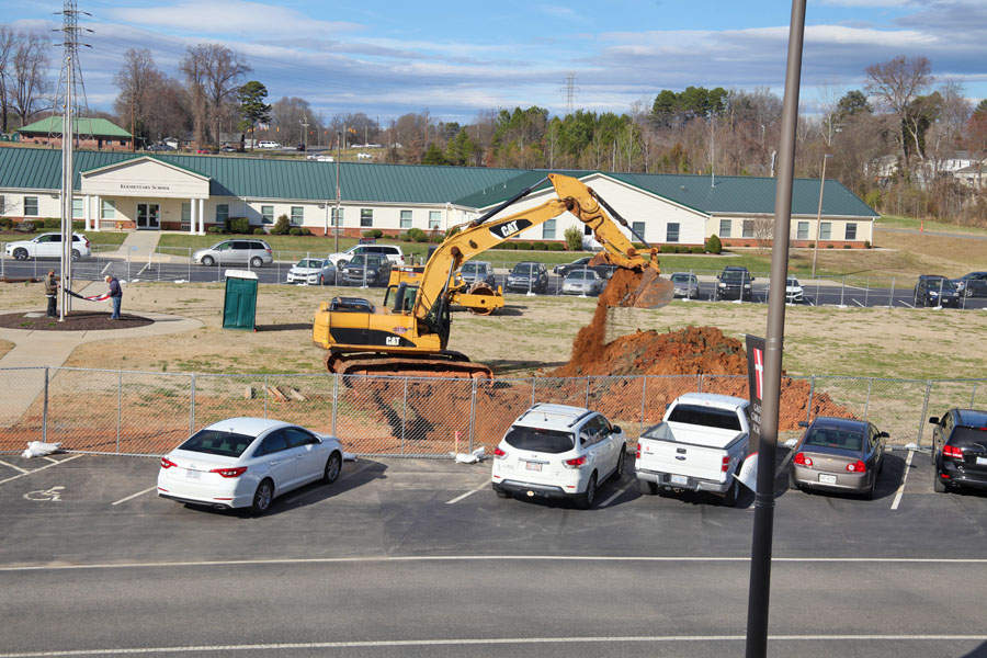 WE ARE MOVING DIRT!