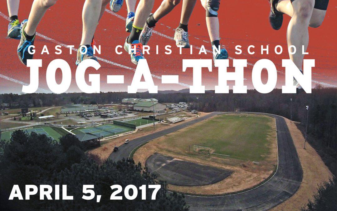 GCS Jog-A-Thon on APRIL 5