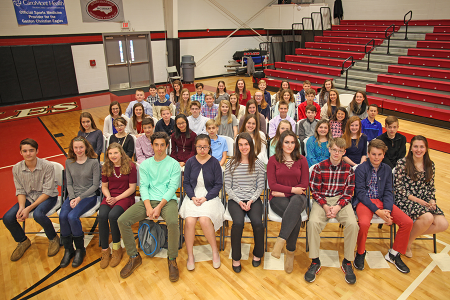 Junior Beta Club induction
