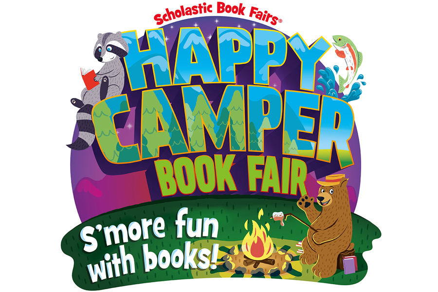 Happy Camper Scholastic Book Fair