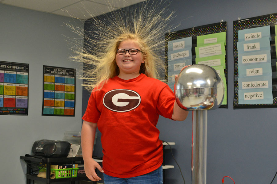 Mad Scientist visit 5th graders
