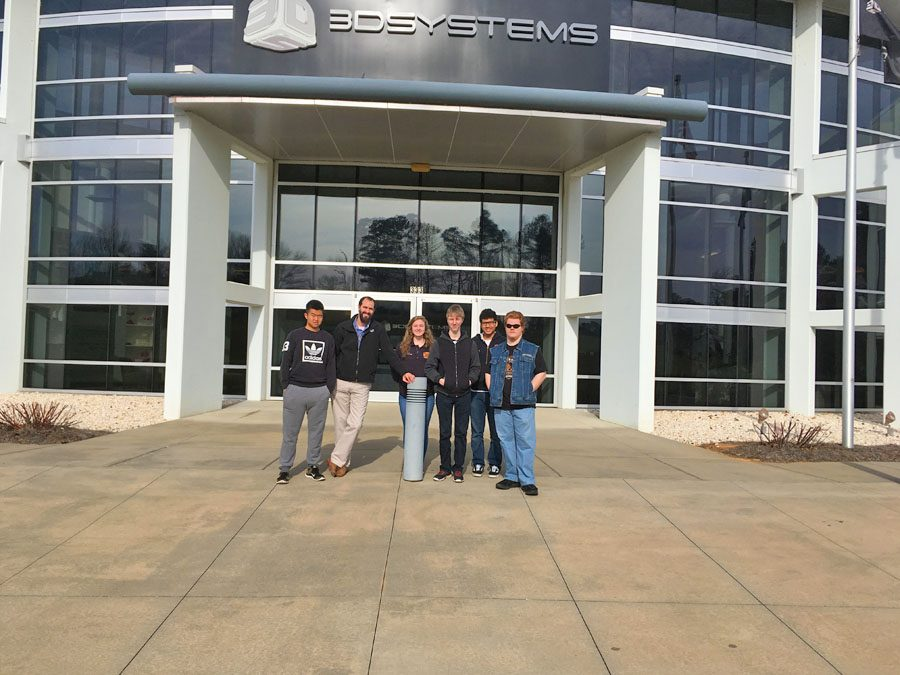 Engineering field trip to 3D Systems