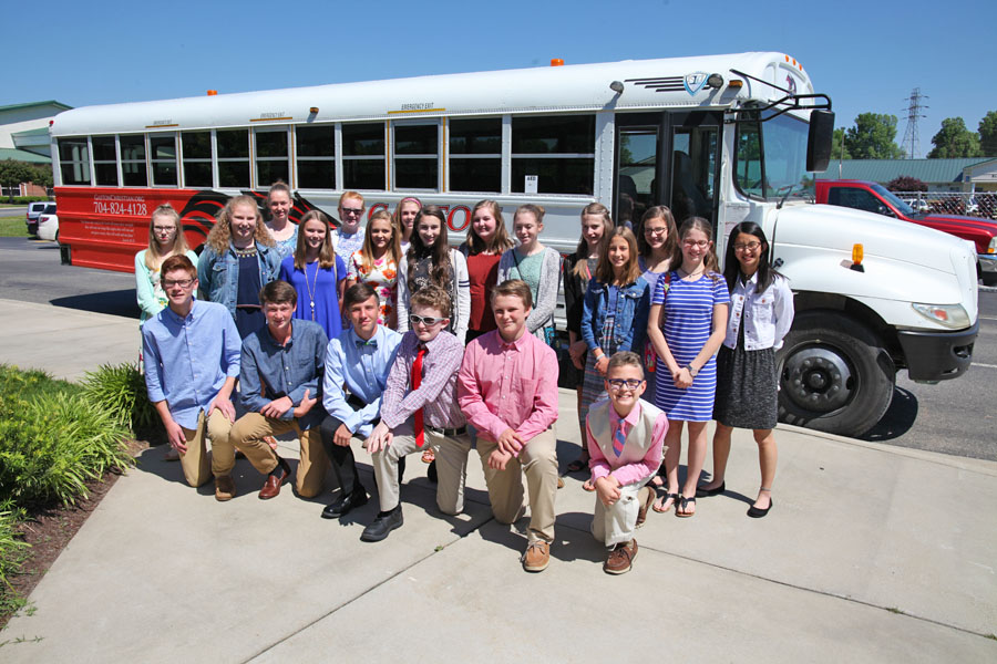 2017 Middle School Chorus Spring Tour