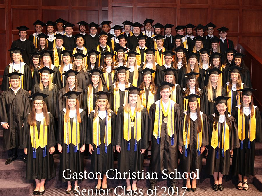 Gaston Christian School Class of 2017