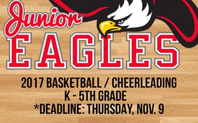 Junior Eagles Basketball/Cheerleading