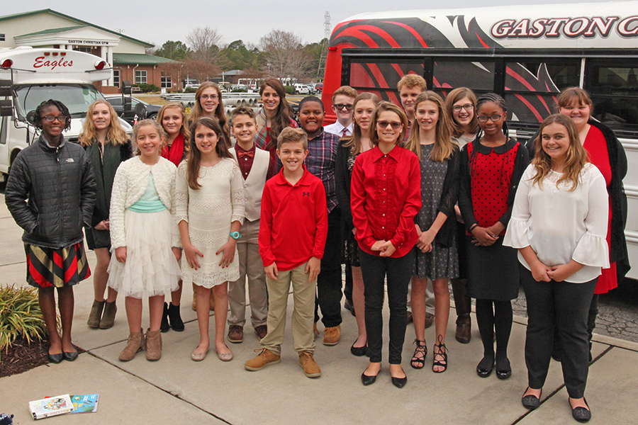 Middle School Concert Chorus Tour