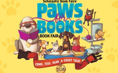 Paws for Books Scholastic Book Fair
