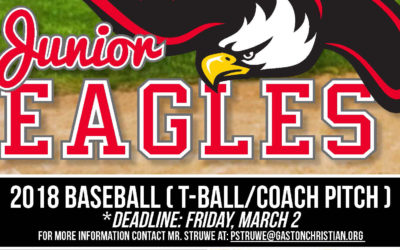 Junior Eagles Baseball signups