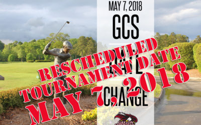 MAY 7TH – DATE CHANGE FOR GCS TOURNAMENT