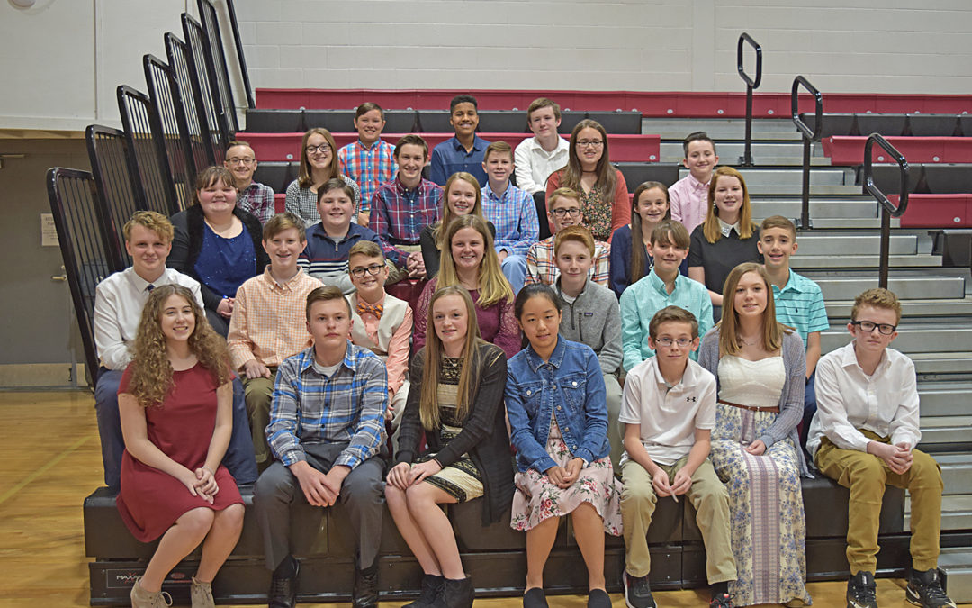 2018 GCS Junior Beta Club Induction
