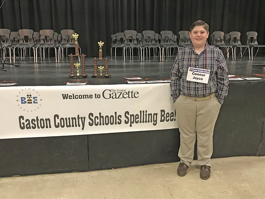 GCS Champion Goes to Gaston County Spelling Bee