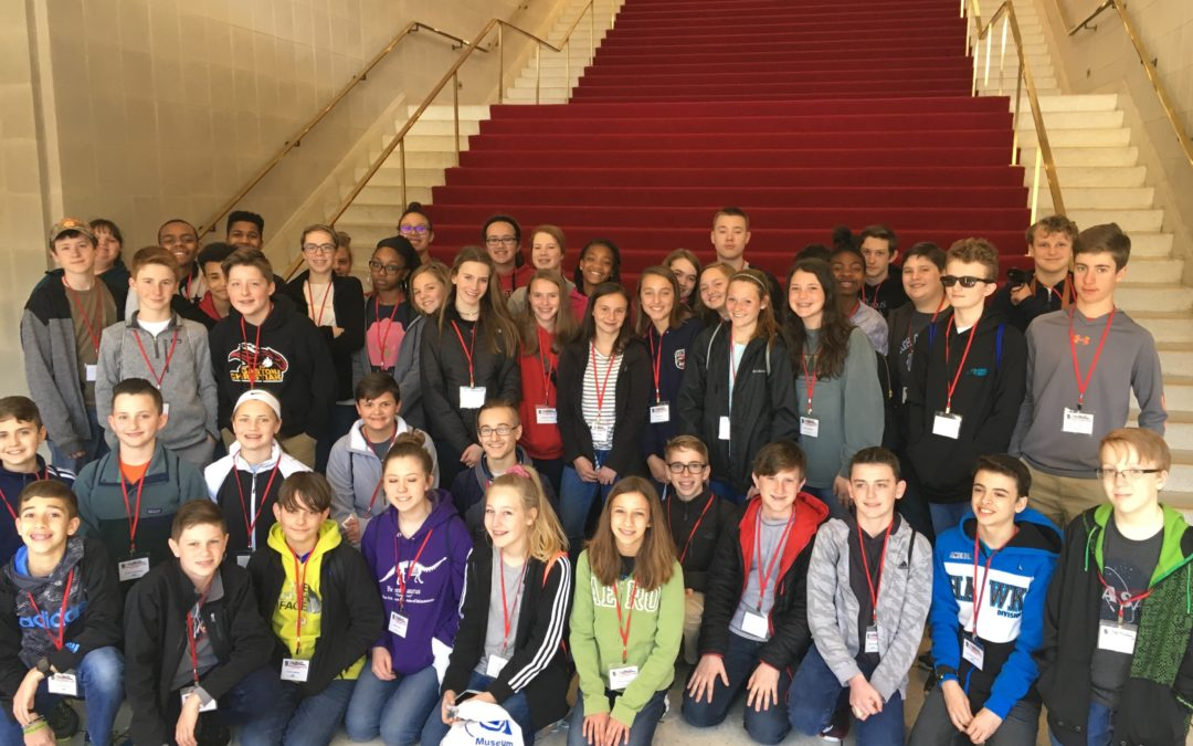 7th graders visit Raleigh
