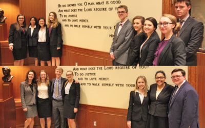 Mock Trial teams competed strong at states