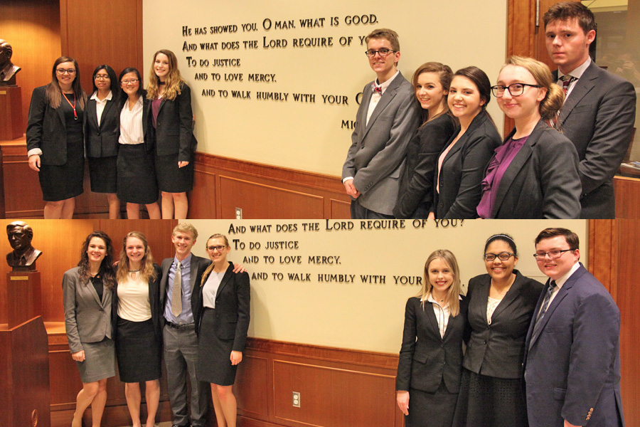 Congratulations to both Mock Trial teams