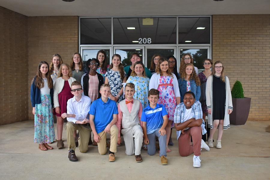 Middle School Chorus tour