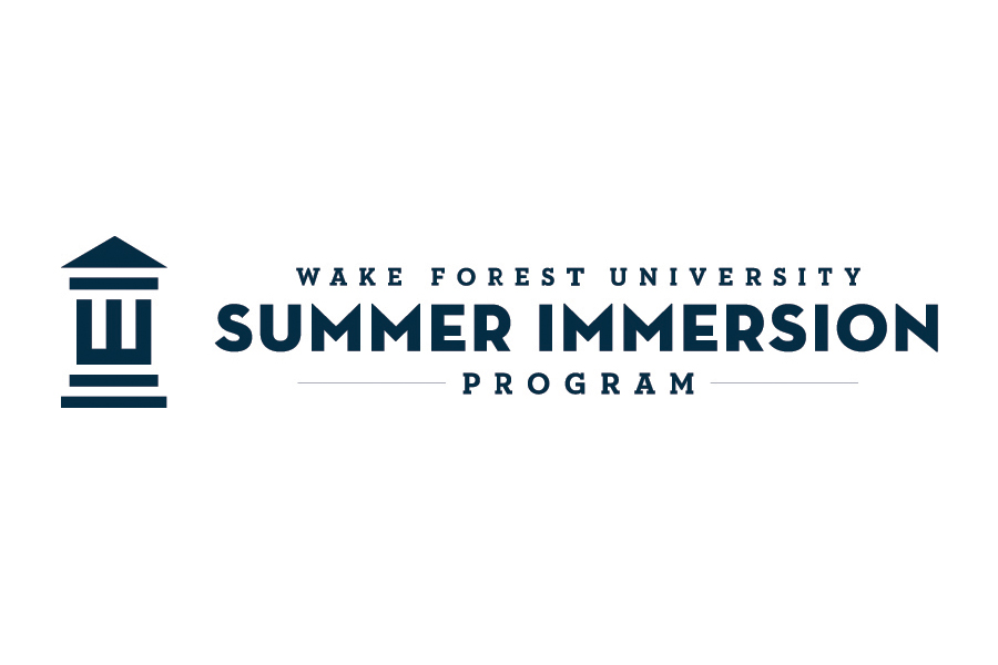 Harry will attend Wake Forest University Summer Residential Immersion Program