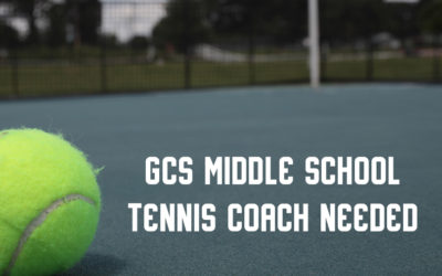 GCS Middle School Tennis Coach needed