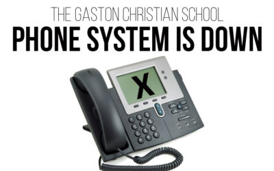 Phone System Down