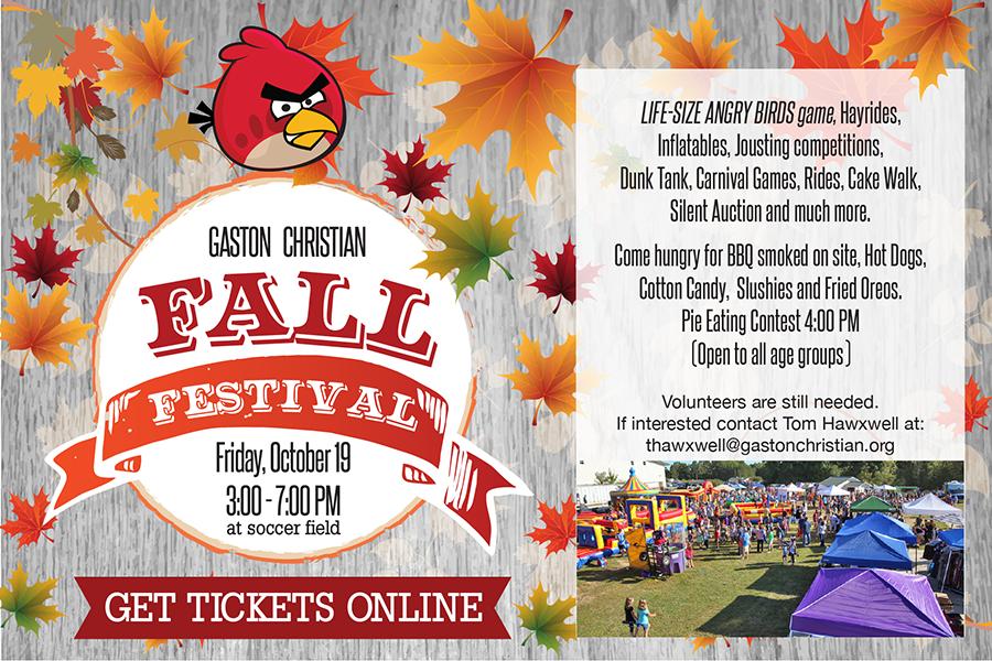 Fall Festival October 19