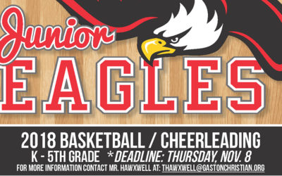 2018 Junior Eagles Basketball/Cheerleading