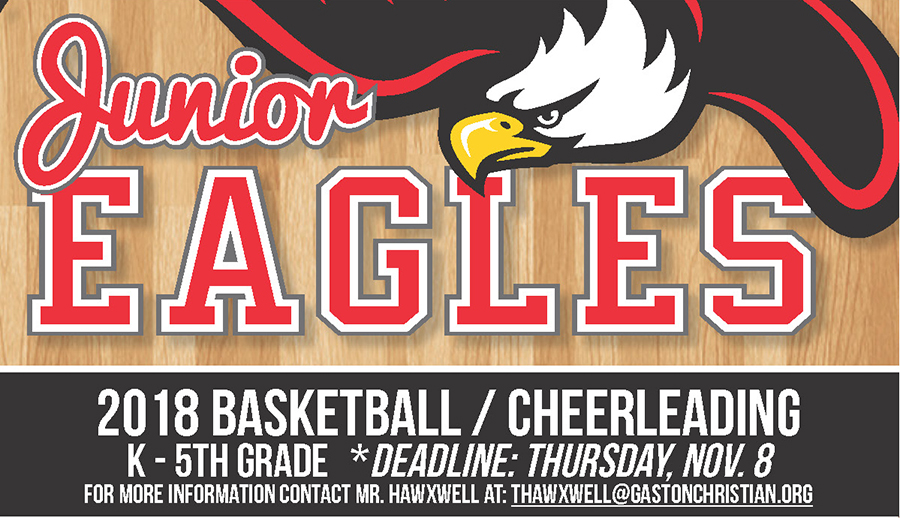 2018 Junior Eagles Basketball/Cheerleading