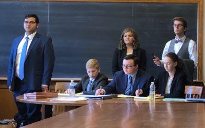 Mock Trial team attended Yale Bulldog Invitational