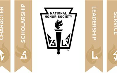 New National Honor Society members