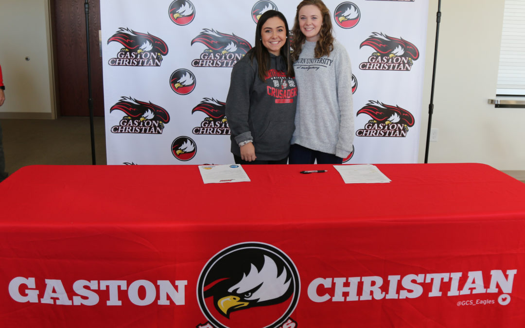 Hannah and Anna College Signings