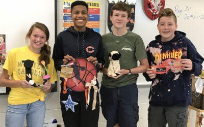 Eighth Grade Creates Family Symbols