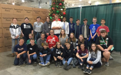 Jr. Beta Club to OCC warehouse