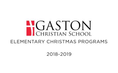 GCS Christmas Program Video PREORDERS