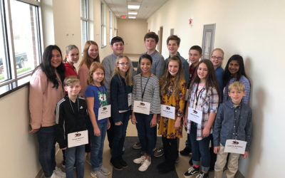 GCS Champion Headed to Gaston County Spelling Bee