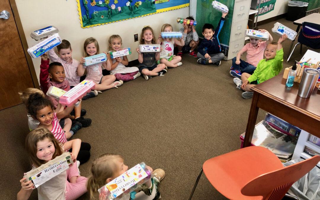 PreSchool – Resurrection Eggs 2019