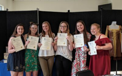 International Thespian Society inducted six new members