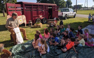Kindergarten onsite field trip Stowe Dairy Farm