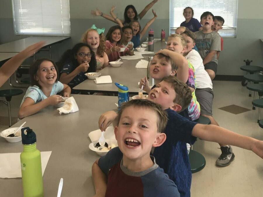 Fall Fundraiser Ice Cream Party