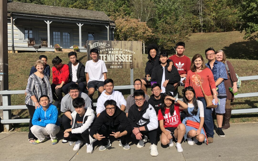 International students visit Tennessee