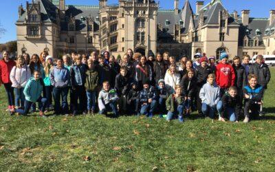 6th grade visits Biltmore