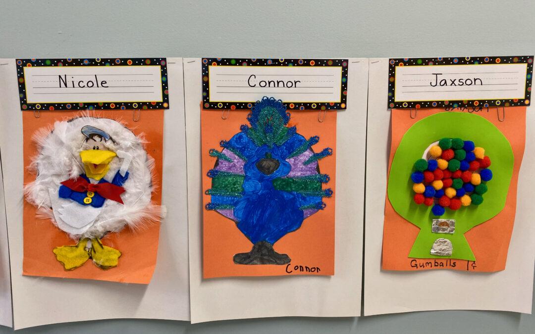 Kindergarten Turkeys in Disguise